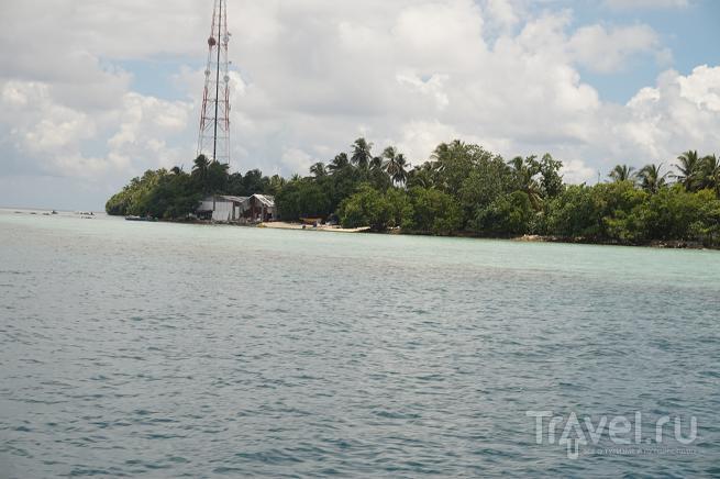 Остров Курамати. Прибытие. Виды сверху / Мальдивы