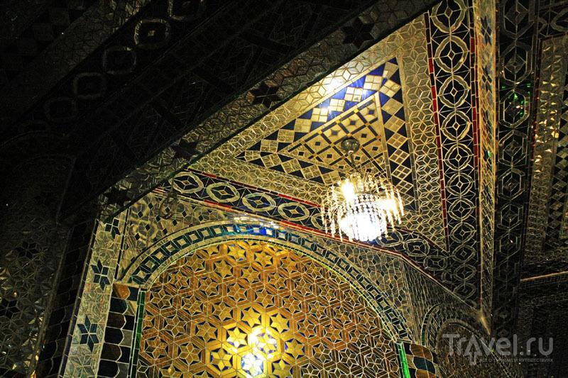 Узорчатые интерьеры напоминают мозаику калейдоскопа / Малайзия