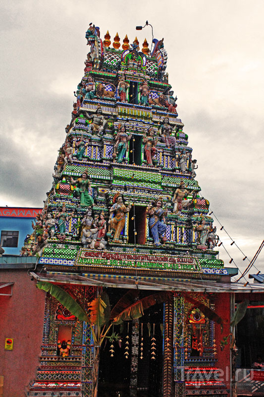 Здание храма было построено в 1922 году / Малайзия