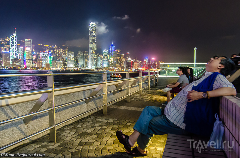 """Гонконг. Лазерное шоу """"Симфония огней"""" / Фото из Гонконга"""