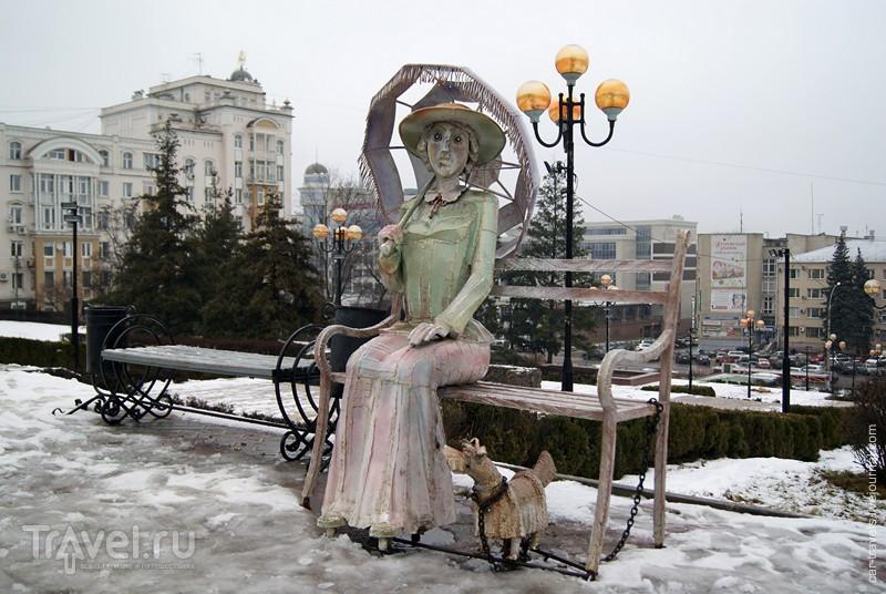 Липецк в январе / Россия