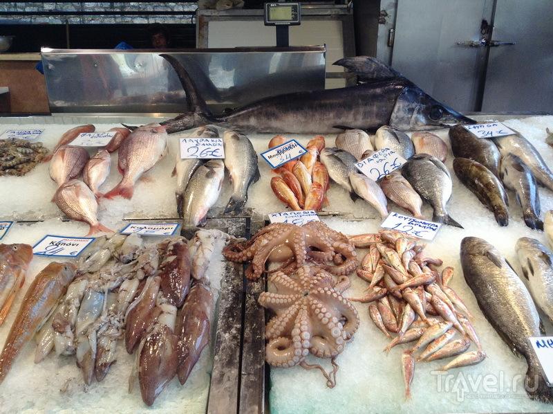 На рыбном рынке / Греция