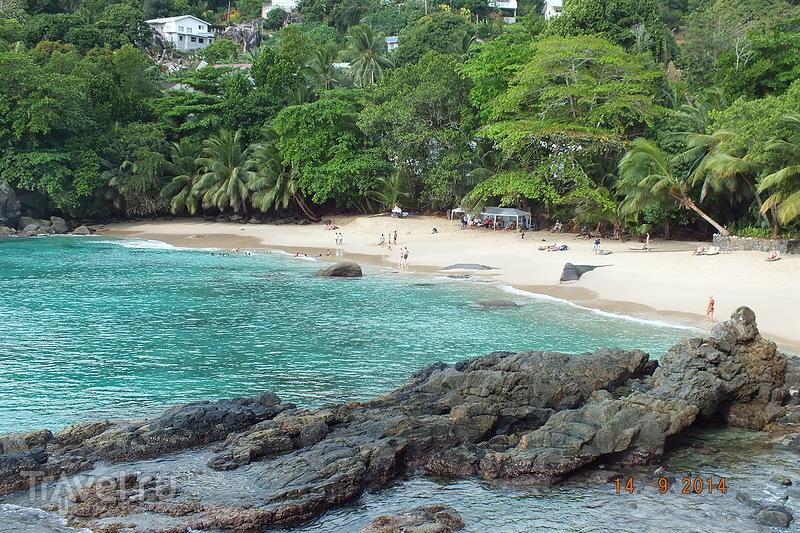 Сейшелы. Остров Маэ. Пляж Бо Валлон / Сейшелы
