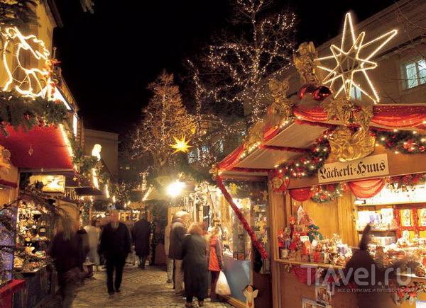 Рождественский рынок в Базеле