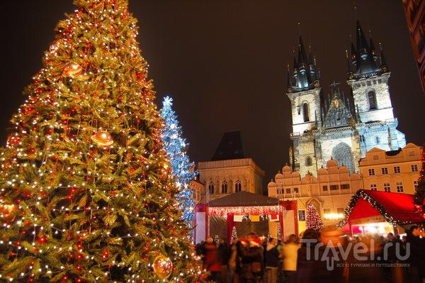 Ярмарка на площади Мира в Праге