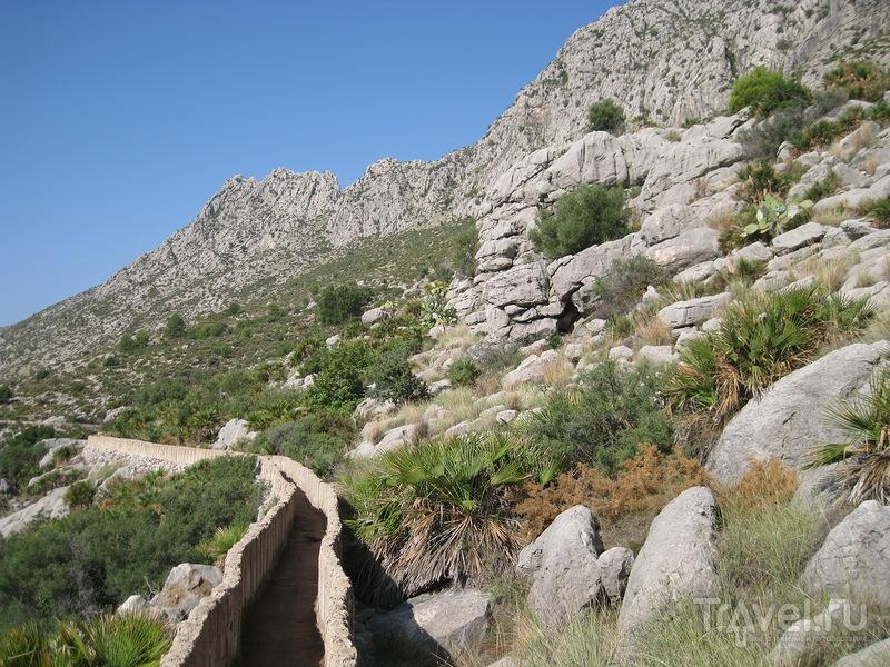 Гора Сегария (Segaria) и пещера Болумини (Cueva Bolumini) / Фото из Испании