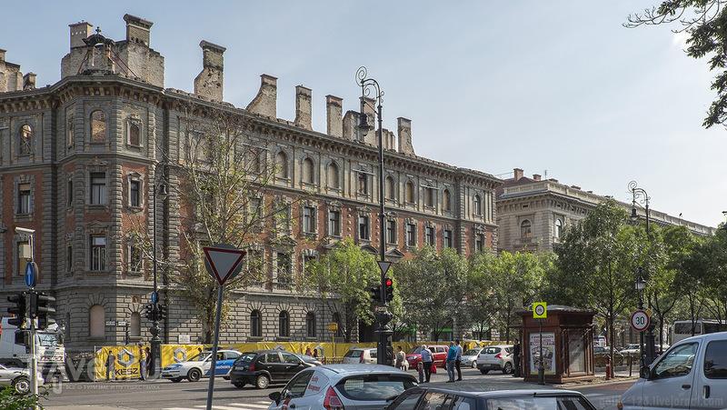Будапешт, круглая площадь Золтана Кодаи / Фото из Венгрии