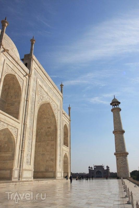 Агра, первое посещение / Индия