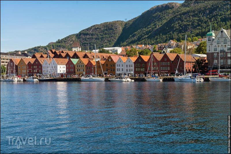 Around the Norge. Берген / Фото из Норвегии