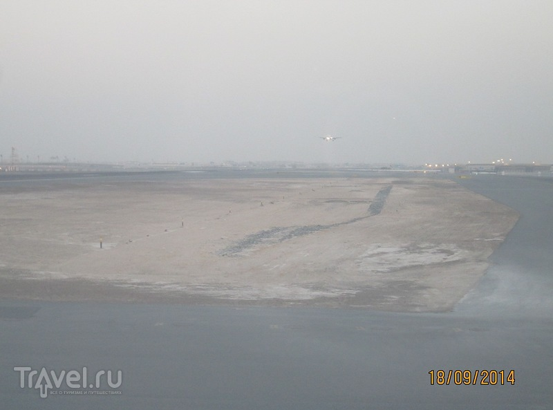 Сейшелы. Перелет остров Маэ - Дубай - Москва / Сейшелы