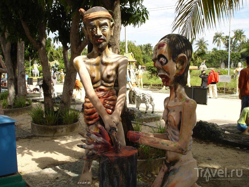 Наглядная казнь для воров / Таиланд