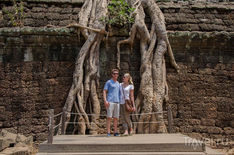 Та-Пром очень популярен у туристов / Камбоджа