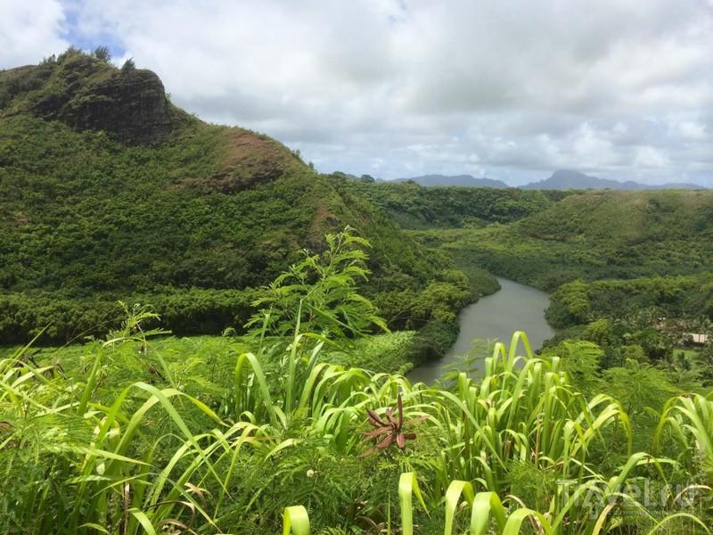 Сплав на байдарках. Гавайи, река Вайлуа / США