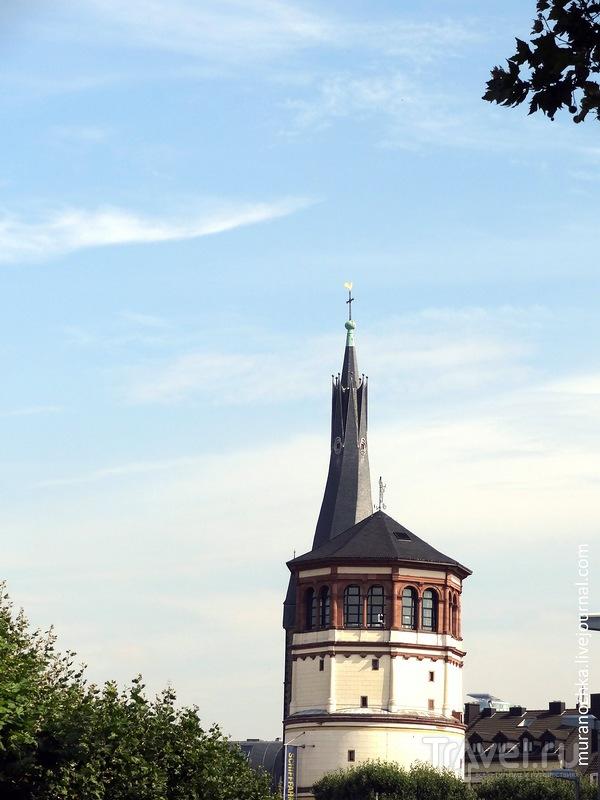 Дюссельдорф - прогулка по рейнской набережной / Германия