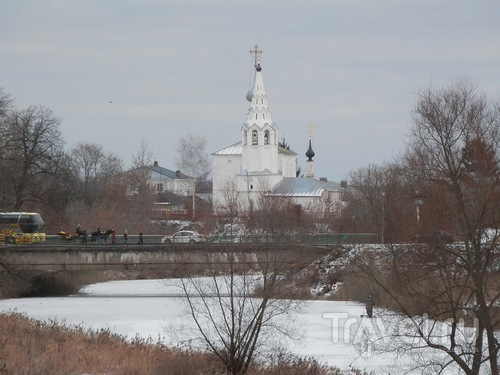 Суздаль, по южной части города / Россия