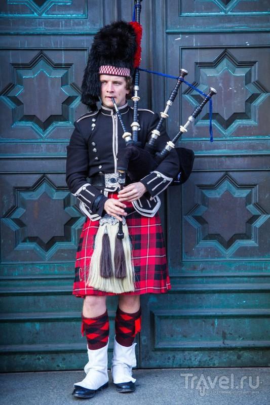 Эдинбург в начале ноября / Великобритания