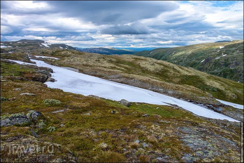 Around the Norge. Aurlandsvegen. Снежная дорога / Фото из Норвегии