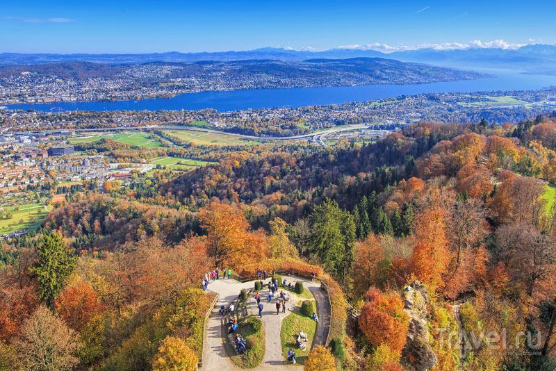 Осенняя гора Уитлиберг