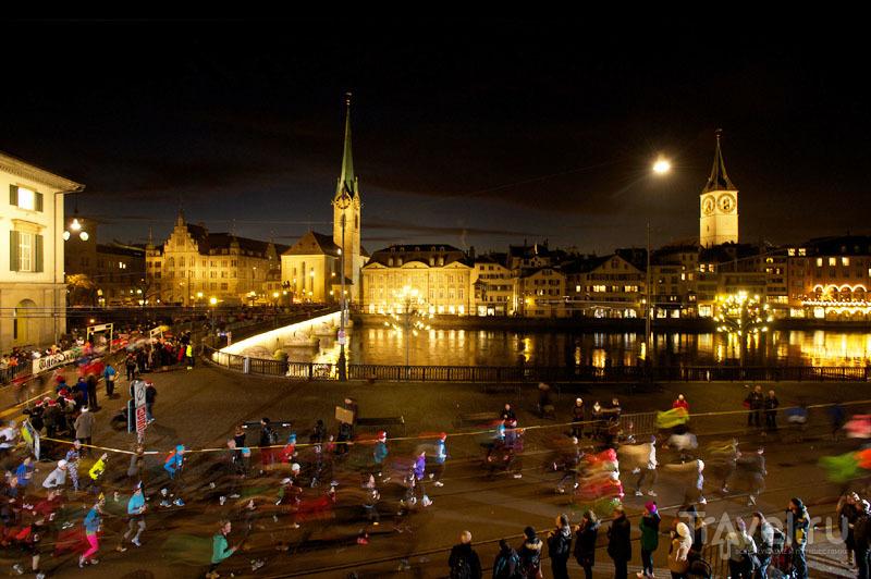 Рождественский марафон в Цюрихе