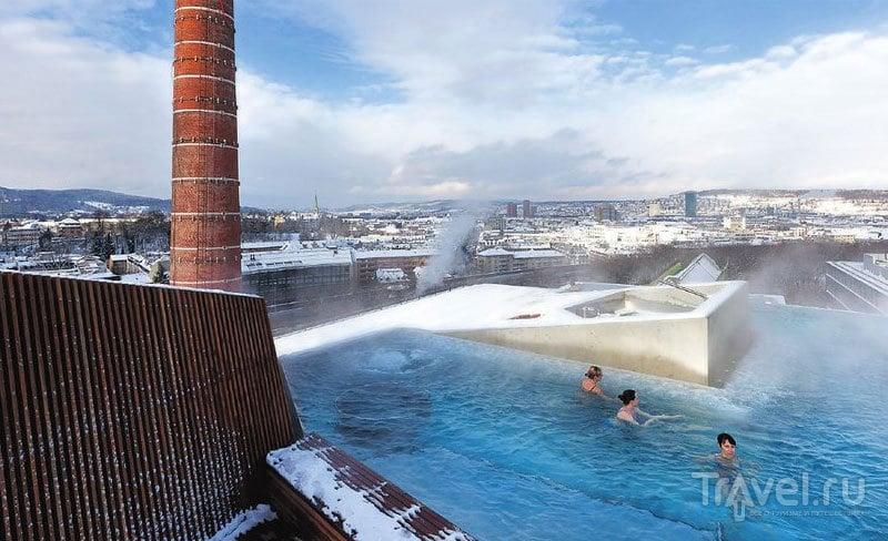 Открытый бассейн Thermalbad в Цюрихе