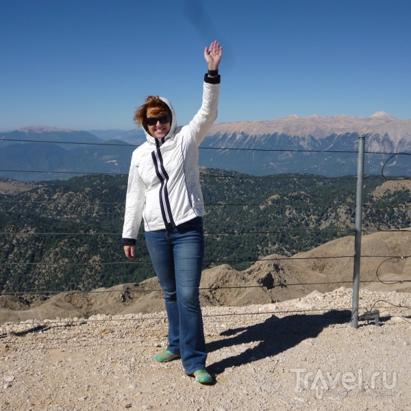 Тахталы - самая большая вершина  Тавра / Турция