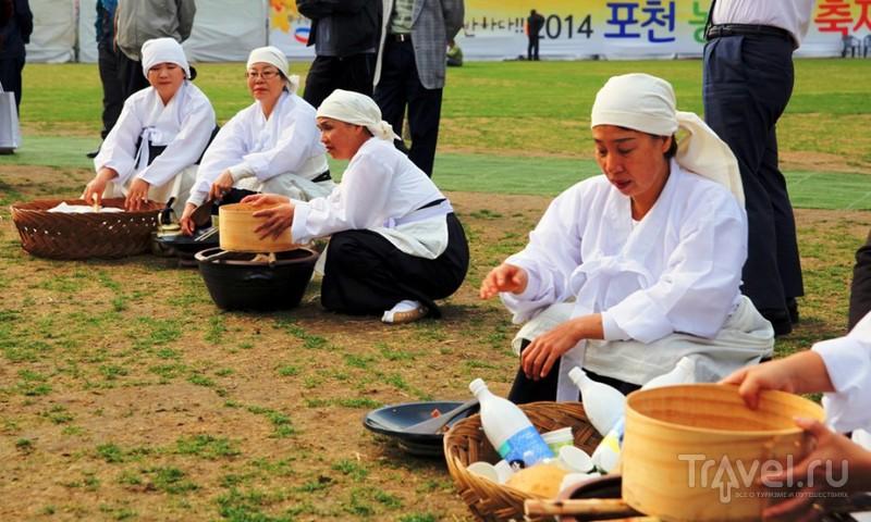 Рисовая ярмарка в центре Сеула / Южная Корея