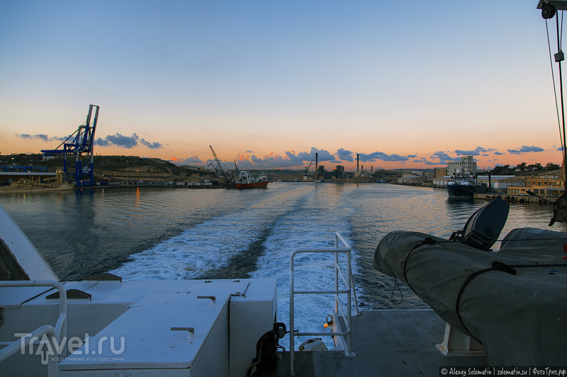 Паром Мальта - Сицилия / Фото из Италии