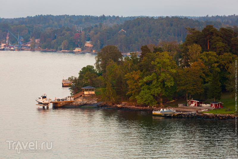 Швеция с борта морского лайнера / Фото из Швеции