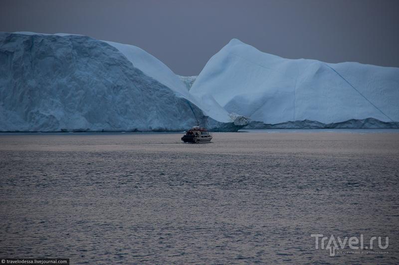 Величественные айсберги залива Диско / Фото из Гренландии