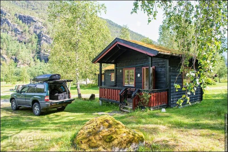 О норвежских кемпингах / Норвегия