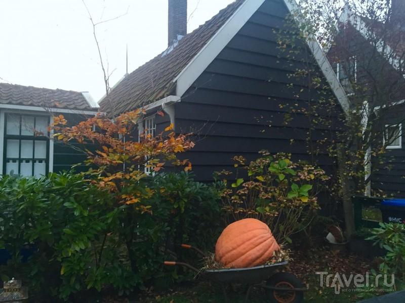 Ветряные мельницы в Заансе-Сханс / Нидерланды