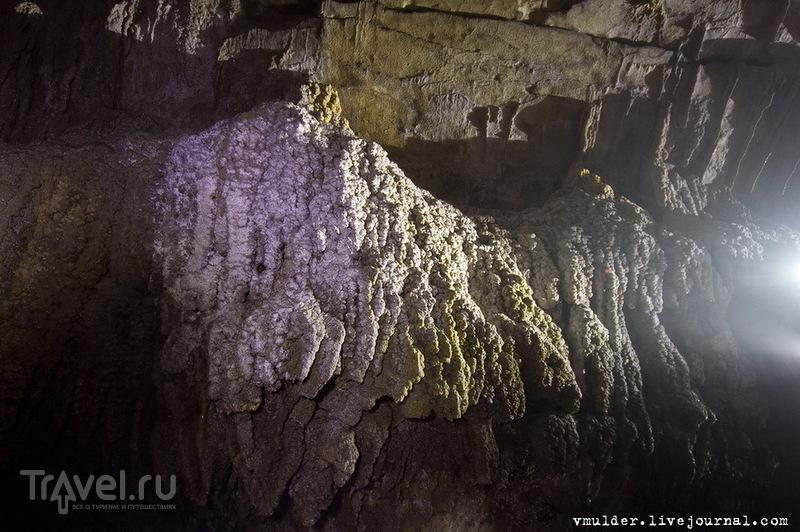 Нижнешакуранская пещера - В саду Эвы / Фото из Абхазии