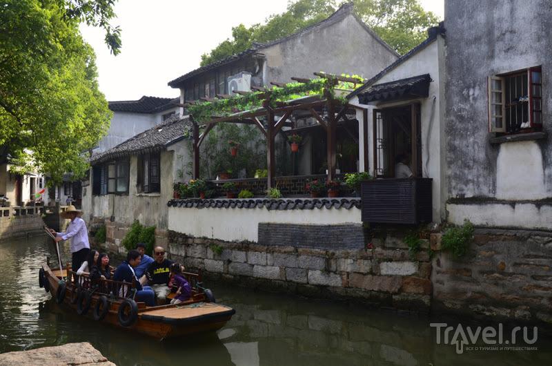Резня в Нанкине и водные города в Сужоу / Китай