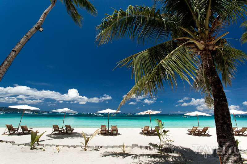 Пляж на Боракае