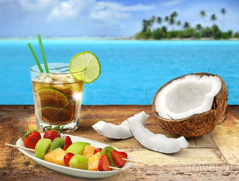 Куба-либре и свежий кокос - достаточно для отдыха