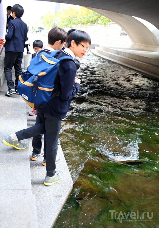 Сеул. Зарисовки вокруг ручья Чонгечон / Южная Корея