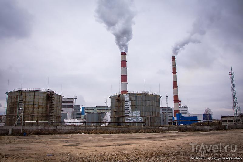 Промышленно-экологические бродилки у владимирской ТЭЦ / Россия