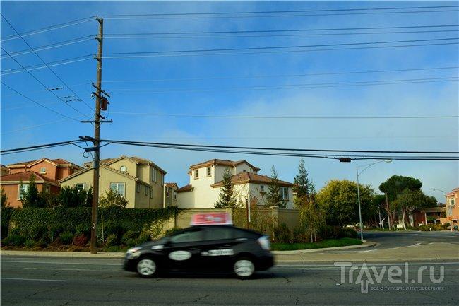 Красно-зелёная осень в Силиконовой Долине / США