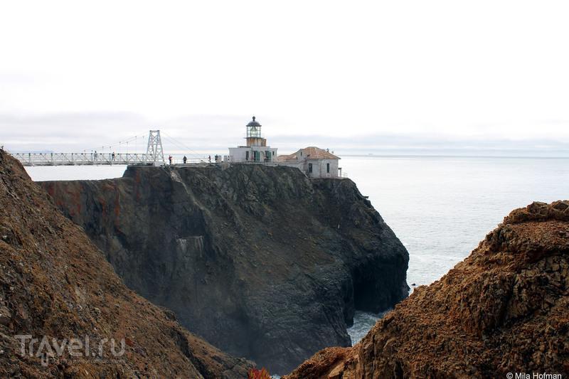 Маяк Point Bonita / Фото из США