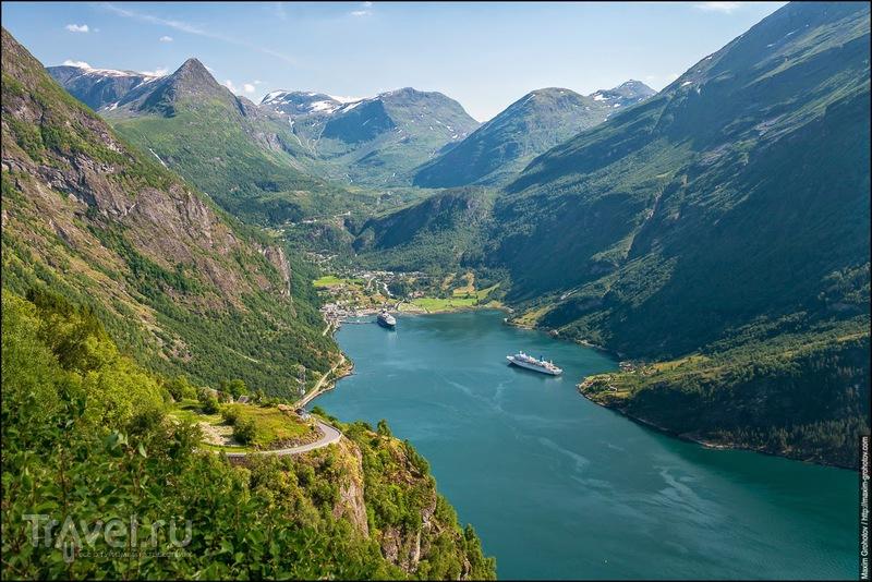 Geirangerfjord / Норвегия