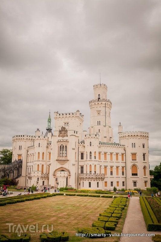 Замок Глубока-над-Влтавой / Чехия
