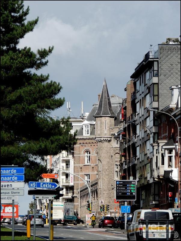Гент. Вокзал Gent-Sint-Pieters / Фото из Бельгии