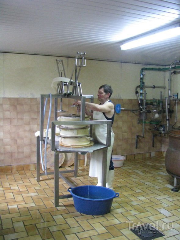 Как делают сыр в Альпах / Франция