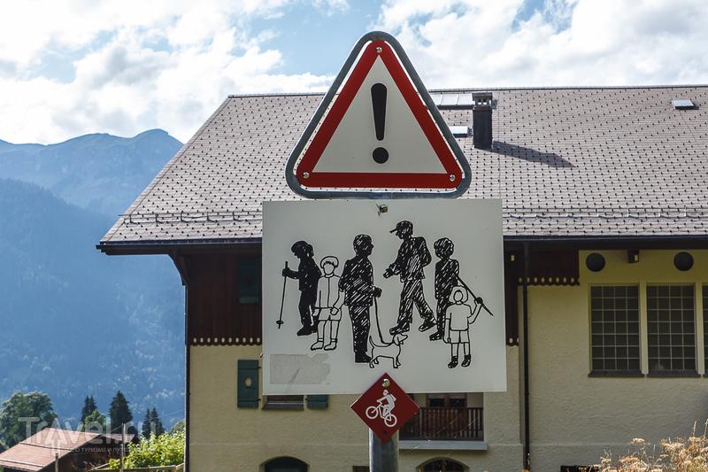 Швейцария, День Конфедерации в Венгене / Фото из Швейцарии