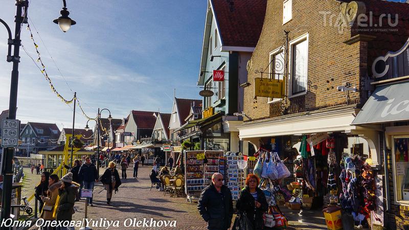 Рыбацкая деревушка Волендам / Фото из Нидерландов