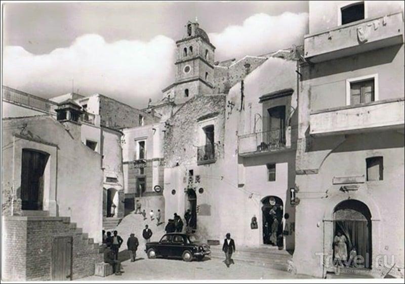 Город-призрак Матера / Италия
