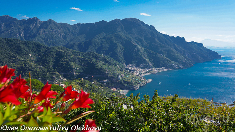 Равелло - между небом и землей, Амалфитанское побережье / Фото из Италии