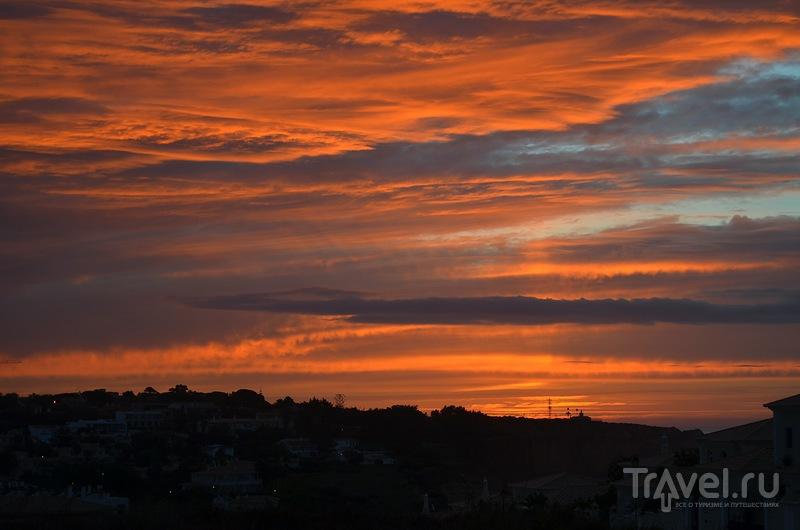 Осенние закаты и рассветы в городе Лагуш / Португалия