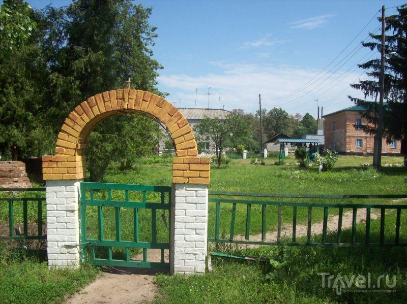 Ворота Толшевского монастыря