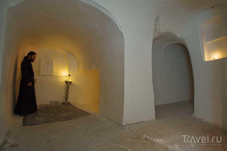 Пещеры в Белогорском монастыре